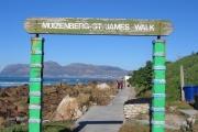 Muizenberg seaside walk