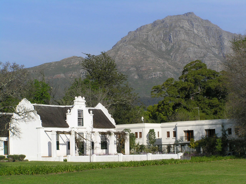 Classic Cape Winelands Footsteps To Freedom South Africa